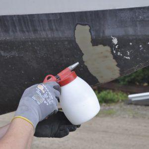 12091 pistol sablare cu bicarbonat de sodiu cu duza din otel si recipient 12l jwl air control jwl Pistol sablare cu bicarbonat de sodiu cu duza din otel si recipient 1.2 L | JWL - Magazin Online Unilift Serv