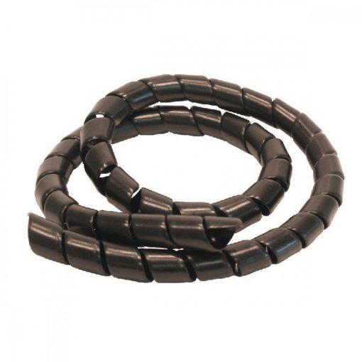 12498 protectie pentru furtune hidraulice safespiral 75 mm negru safeplast Protectie pentru furtune hidraulice rola 20 m   SAFESPIRAL 75 mm, negru   Safeplast - SHOP unilift.ro