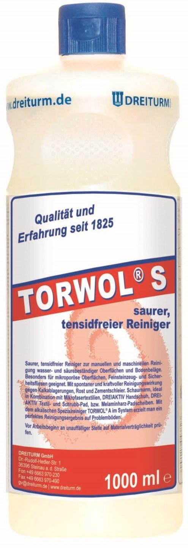 2335 detergent de curatare fara continut de tenside torwol s acid dreiturm Detergent acid  fara continut de tenside 1L | Torwol S | Dreiturm - Magazin Online Unilift Serv