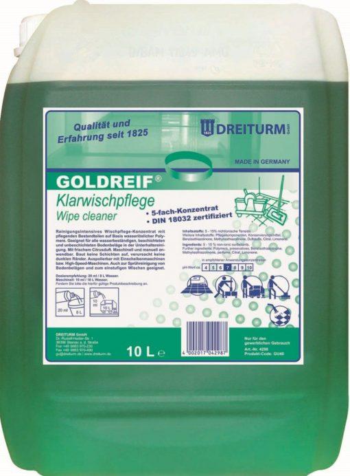 2452 detergent pentru pardoseli goldreif dreiturm Detergent pentru pardoseli 1L | Goldreif Klarwichpflege | Dreiturm - SHOP unilift.ro