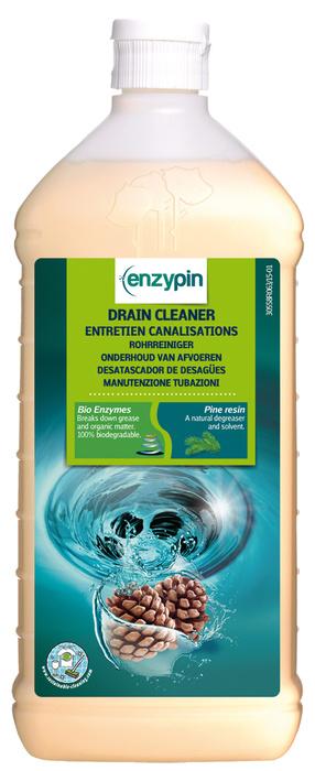 2851 solutie de curatat tevi si scurgeri enzypin drain cleaner 1l action pin Solutie desfundat canalizari ecologica 1L | Drain cleaner | Action Pin - Magazin Online Unilift Serv