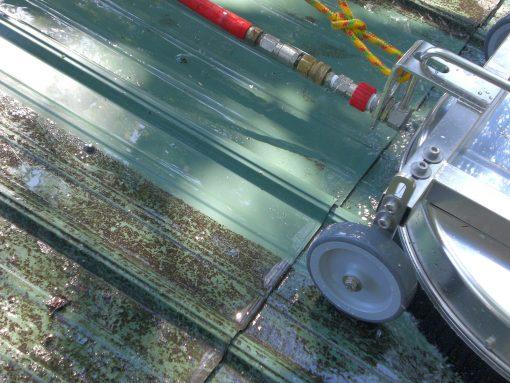 9157 dispozitiv de curatare rotativ pentru acoperis roof cleaner mosmatic Dispozitiv de curatare rotativ pentru acoperis | ROOF CLEANER | Mosmatic - SHOP unilift.ro