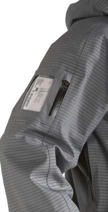9550 jacheta de protectie pentru sarcini de curatenie cu presiune inalta tst sweeden tst sweden Jacheta de protectie rezistenta la presiune inalta (500 bar)   TST Sweeden - Magazin Online Unilift Serv