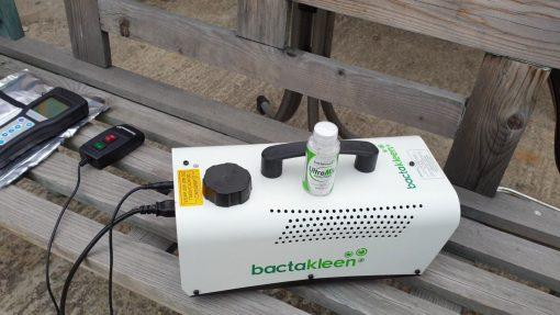 VideoCapture 20200328 225609 BactaKleen BT 828 - Echipament de dezinfectie prin nebulizare pentru spatii inguste - SHOP unilift.ro