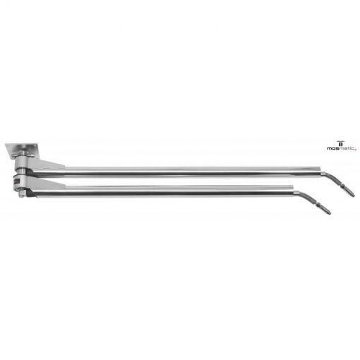 brazo doble ddp 1750 mm 1 Brat mobil dublu cu cap flexibil pentru instalatii de spalare | DDF | Mosmatic - SHOP unilift.ro