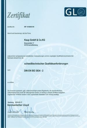 gl din en iso 3834 2 2014 de 960 Kaup - Magazin Online Unilift Serv