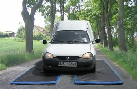 mata przejazdowa droga Covoare dezinfectante pentru rotile masinilor si camioanelor (Set 2 buc.) | PEsan - Magazin Online Unilift Serv