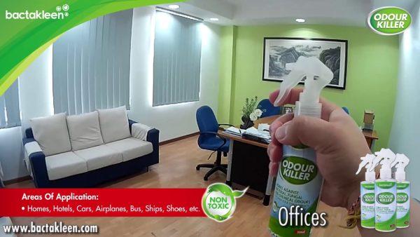 maxresdefault 1 1 Spray odorizant antibacterian | OdourKiller | BactaKleen - Magazin Online Unilift Serv