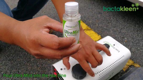 Solutie antibacteriana pentru nebulizatoare cu ceata termica | MIST | BactaKleen - Magazin Online Unilift Serv