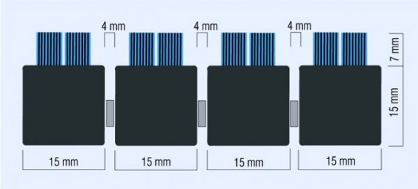 phoca thumb l abi brushmat table Covor intrare cu profil din aluminiu 475x785 mm | CHAMELEON | ABI - Magazin Online Unilift Serv