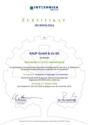 zert 50k 2016 10 17 kaup de Kaup - Magazin Online Unilift Serv