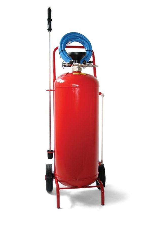 4775 pulverizator spuma cu recipient din otel inoxidabil dewitte Nebulizator spuma activa 50 L, Rosu, R+M Suttner - Magazin Online Unilift Serv