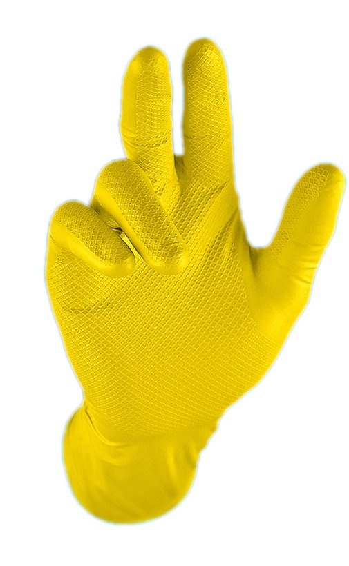 8610 manusi protectie jan san grippaz Manusi din nitril cu striatii pentru curatenie/industria sanitara | Grippaz - SHOP unilift.ro Manusi ambidextre