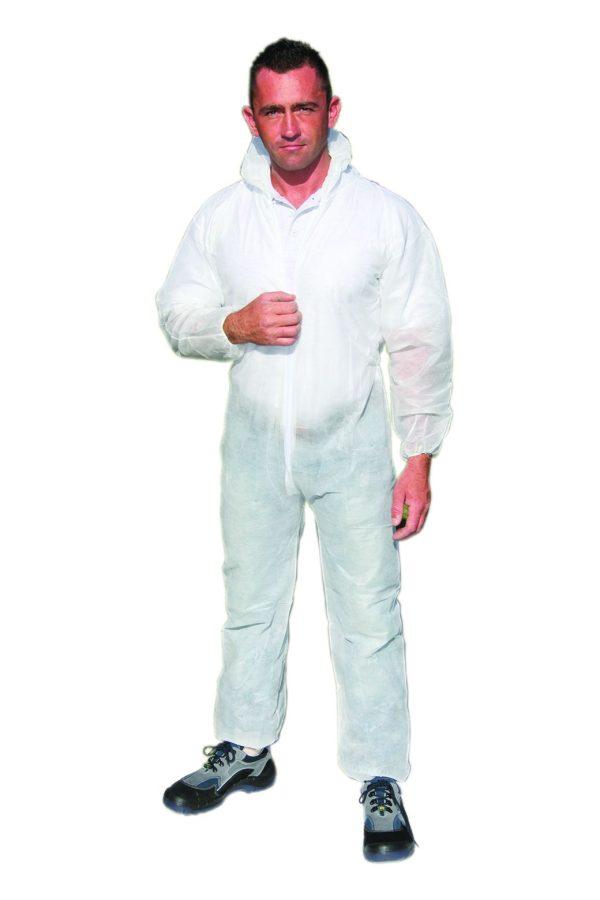 n231570 imbracaminte overal de unica folosinta pp alb big Echipament de protectie de unica folosinta PP | Rock Safety - Magazin Online Unilift Serv