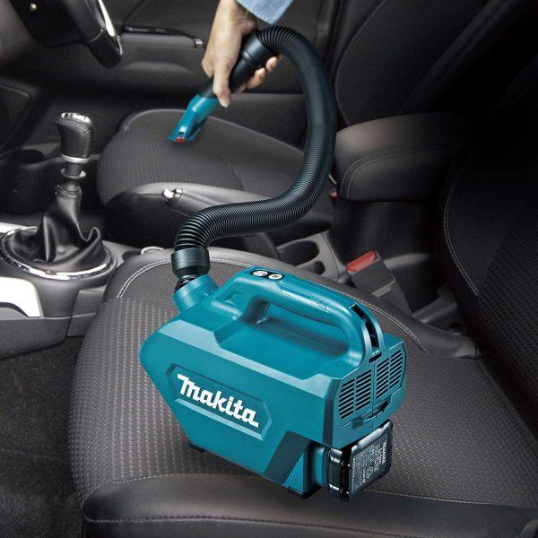CL121DZ 2 Aspirator portabil pentru mașină cu un acumulator | CL121DWA | Makita - Magazin Online Unilift Serv
