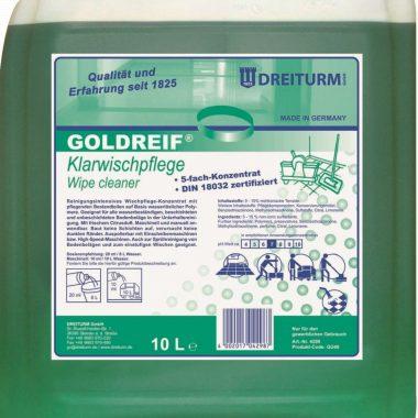 2452 detergent pentru pardoseli goldreif dreiturm 380x380 1 Detergent pentru pardoseli 10L | Goldreif Klarwichpflege | Dreiturm - Magazin Online Unilift Serv
