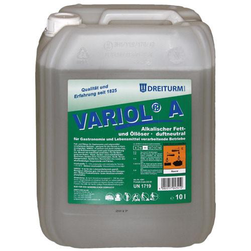 e793187 Degresant alcalin pentru indepartarea grasimilor 10L| Variol A | Dreiturm - Magazin Online Unilift Serv