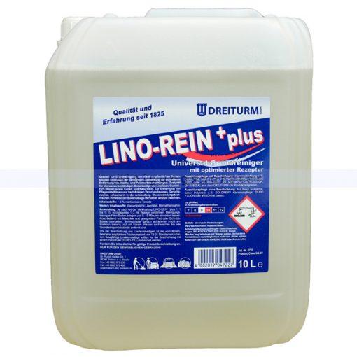 grundreiniger dreiturm lino rein plus 10 lp D4722s 600 Detergent decapant pentru pardoseli 10L | Lino-rein+plus | Dreiturm - Magazin Online Unilift Serv