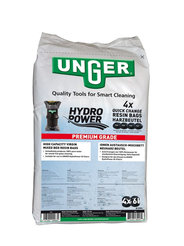1719 saci de rasina unger Saci de rasina pentru filtru - 4 bucati | Hydropower | Unger - Magazin Online Unilift Serv