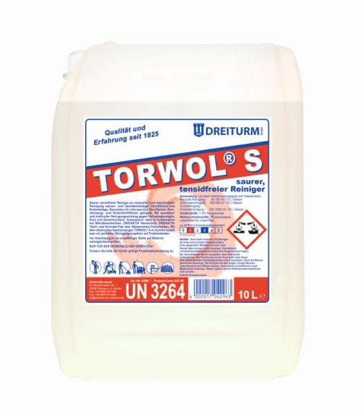 Detergent acid fara continut de tenside 10L   Torwol S   Dreiturm - Magazin Online Unilift Serv