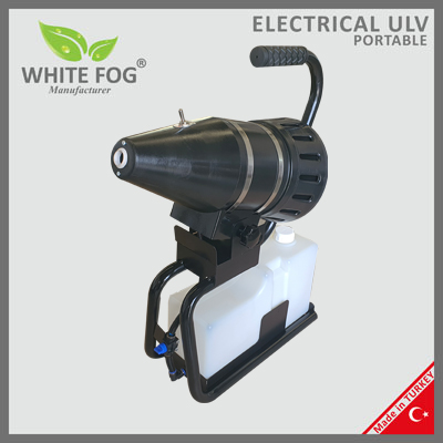 Electrical Electric Portable ULV Sprayer Spraying Machine Cold Fogging Fogger Nebulizator electric pentru dezinfectie  ULV | MINI | WhiteFog - Magazin Online Unilift Serv