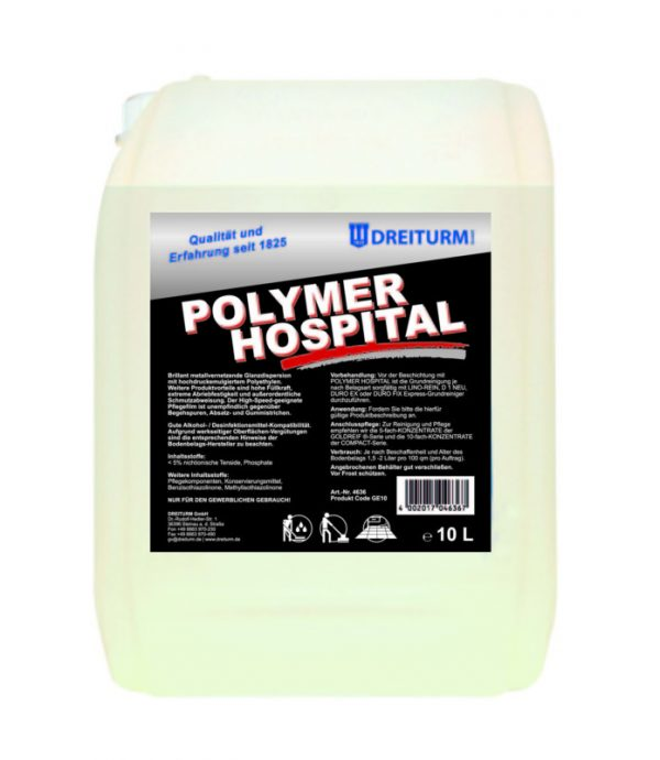 Polymer Hospital 10l Ceara lucioasa compatibila cu dezinfectanti 10L | Polymer Hospital | Dreiturm - Magazin Online Unilift Serv