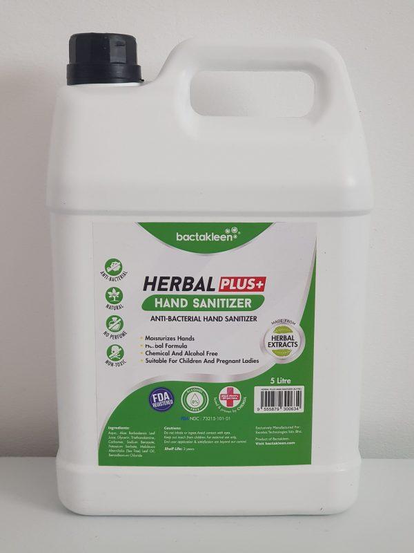20200811 122735 scaled 1 scaled Solutie dezinfectanta pentru maini din extracte naturale 5l   Herbal Hand Sanitizer   BactaKleen - Magazin Online Unilift Serv