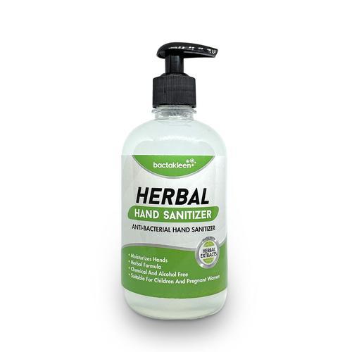 Hand Sanitizer 500ml Solutie dezinfectanta pentru maini din extracte naturale 500 ml | Herbal Hand Sanitizer | BactaKleen - SHOP unilift.ro