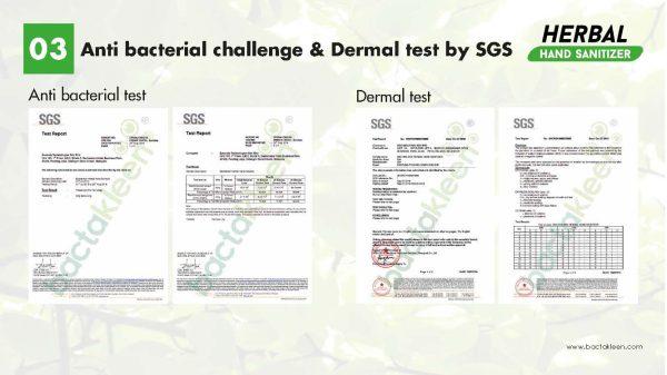 P1LtscQS1586086960 Solutie dezinfectanta pentru maini din extracte naturale 500 ml | Herbal Hand Sanitizer | BactaKleen - Magazin Online Unilift Serv