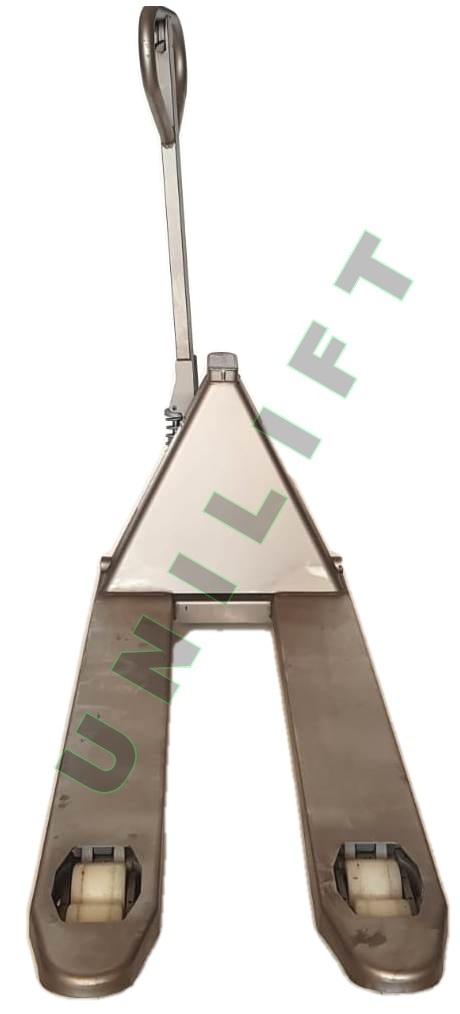 Transpalet Inox 3 ok Traspalet manual din otel-inoxidabil   Climax - Magazin Online Unilift Serv