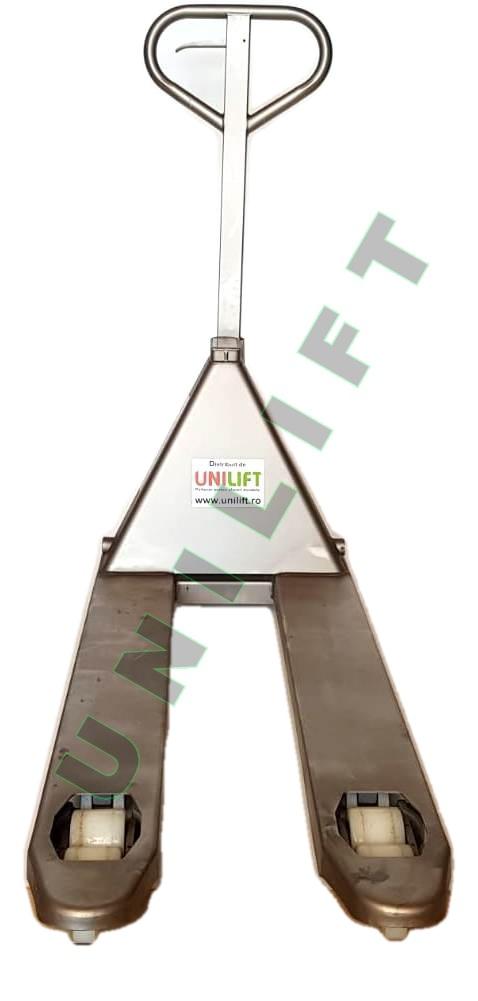 Transpalet Inox 6 ok Traspalet manual din otel-inoxidabil   Climax - Magazin Online Unilift Serv
