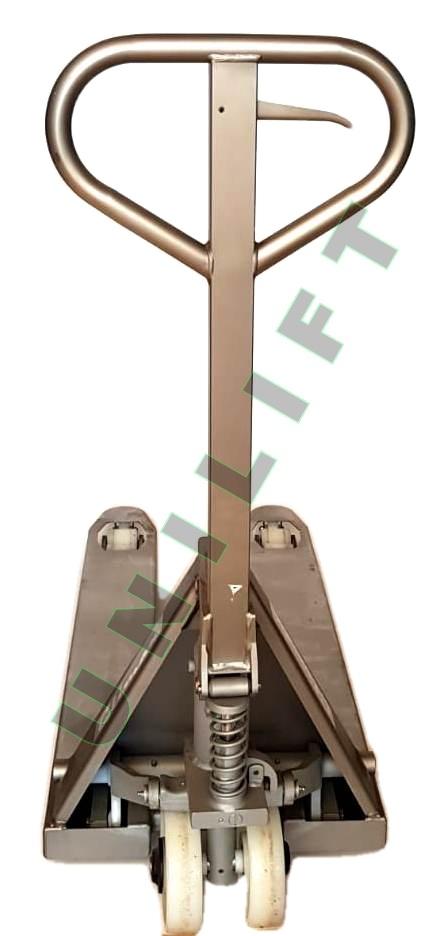 Transpalet Inox 8 ok Traspalet manual din otel-inoxidabil   Climax - Magazin Online Unilift Serv