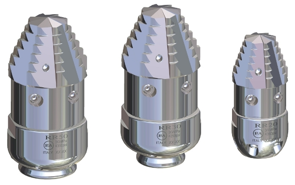 duza rotativa din otel inoxidabil tevi pa 3086 Duza rotativa din otel inoxidabil RR-TF SST 30   PA - Magazin Online Unilift Serv