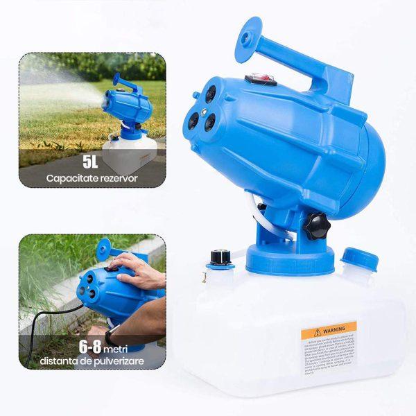 imagine4 Nebulizator electric pentru dezinfectie + BONUS - Magazin Online Unilift Serv