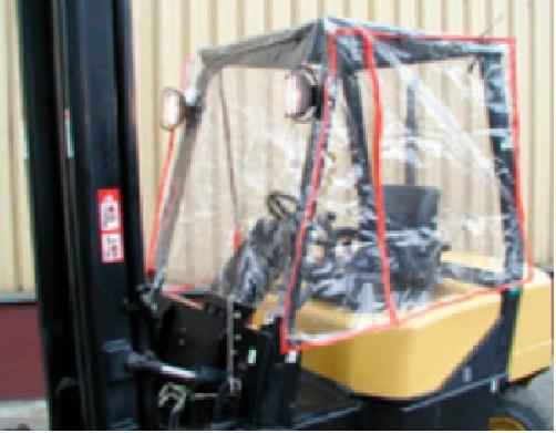 9719 cabina stivuitor din pvc alta marca Cabina stivuitor din PVC - Magazin Online Unilift Serv