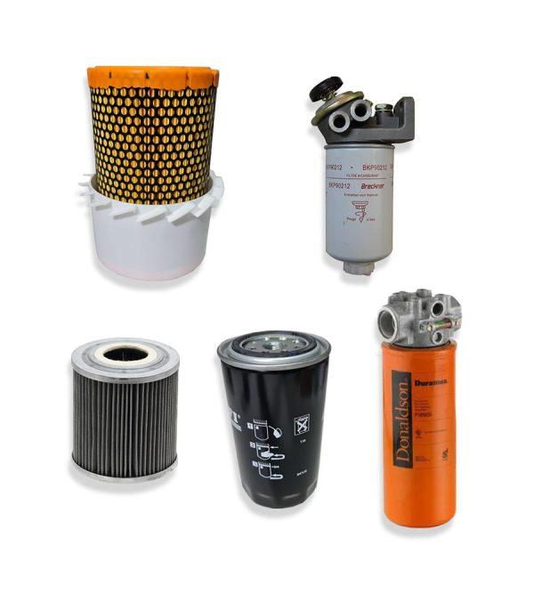 Kituri Unilift complete fara aer interior 5 min 1 Kit filtre service pentru stivuitor Clark - CDP30 - Magazin Online Unilift Serv