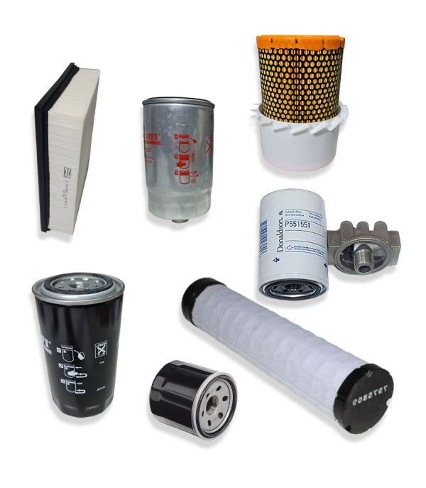 Kituri complete 17 min 1 Kit filtre service pentru stivuitor Manitou - MSI50 - Magazin Online Unilift Serv
