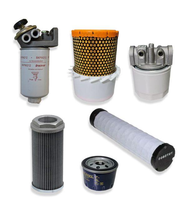 Kituri complete 2 min 1 Kit filtre service pentru stivuitor Clark - CMP50D - Magazin Online Unilift Serv