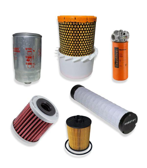 Kituri complete 6 min 1 Kit filtre service pentru stivuitor Hyundai - 70D-9 - Magazin Online Unilift Serv