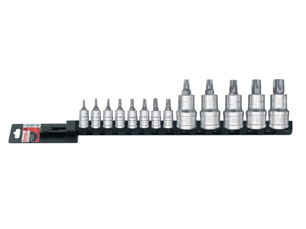 "Set 13 capete tubulare cu bituri Torx 63 mm 127 mm Set 13 capete tubulare cu bituri Torx 1/4""-1/2"" | Mob-Ius - Magazin Online Unilift Serv"