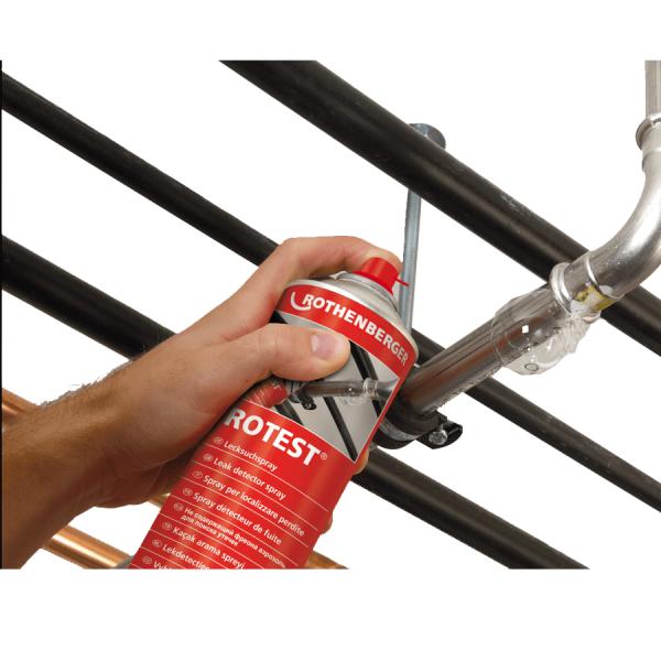 Spray detectare scurgeri gaze ROTHENBERGER ROTEST ForeStore.ro Spray pentru detectat scapari gaze 400 ml | ROTEST20| Rothenberger - Magazin Online Unilift Serv